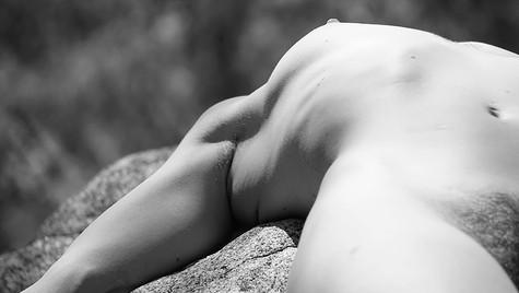 Sunning Nude