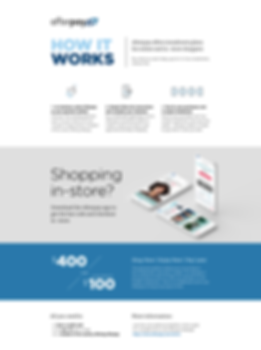 How it works - Landing page - In-store a