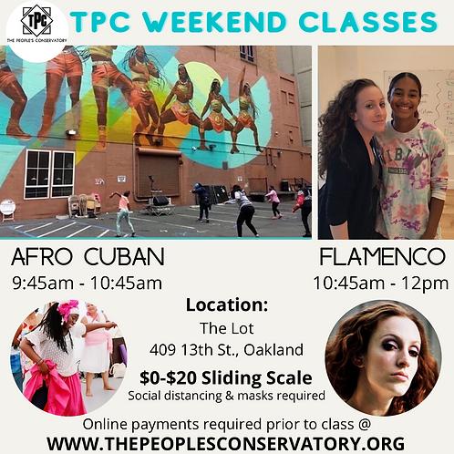 TPC Weekend Classes