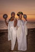 Sister Ellen & Sister Ajhana offer reflection & light.