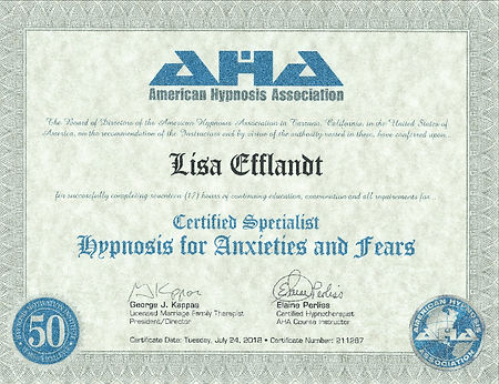 HMI Fears and Anxiety specialist cert_ed