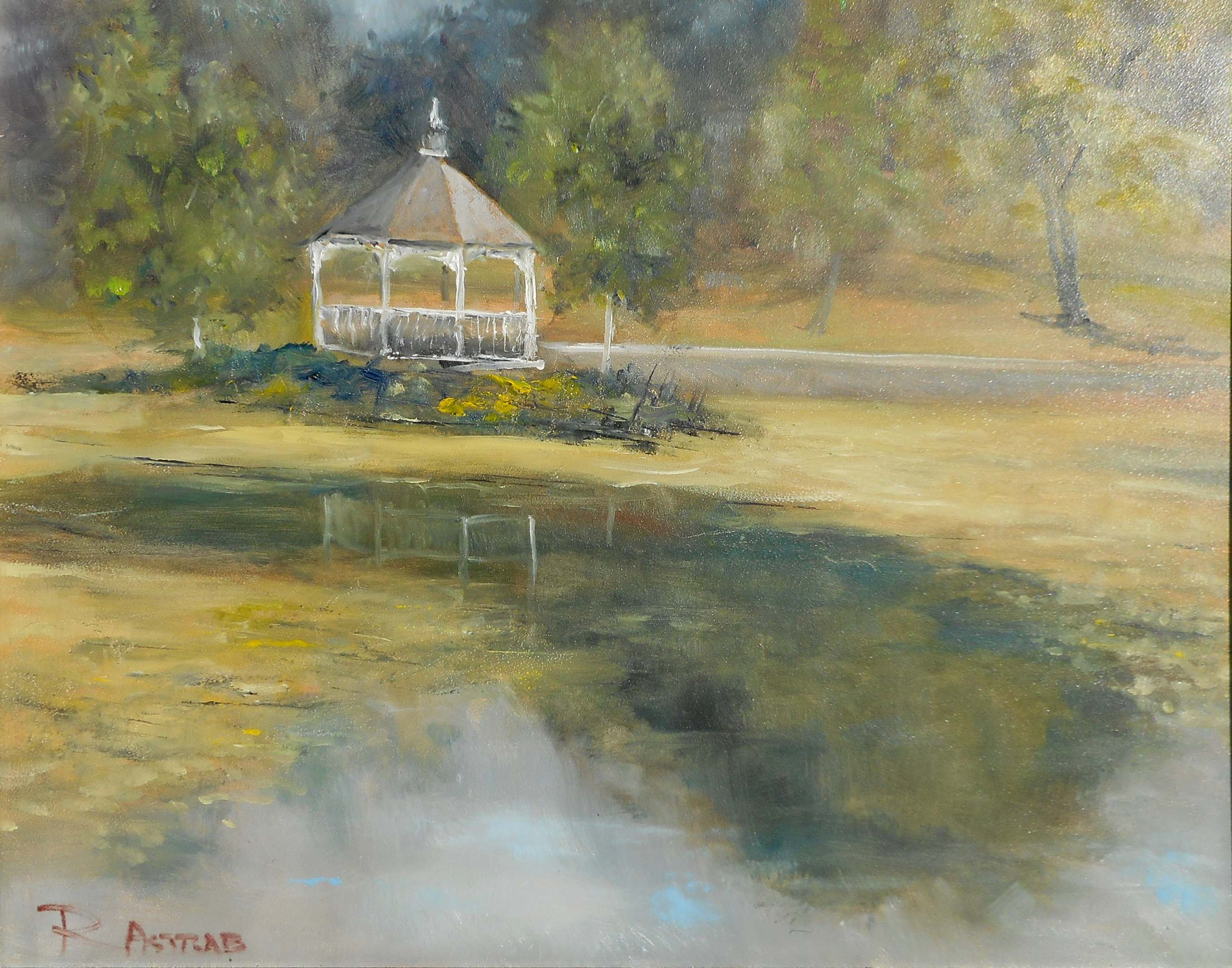 ASTRAB Gazebo at Rings Pond Cornwall NY 11x14