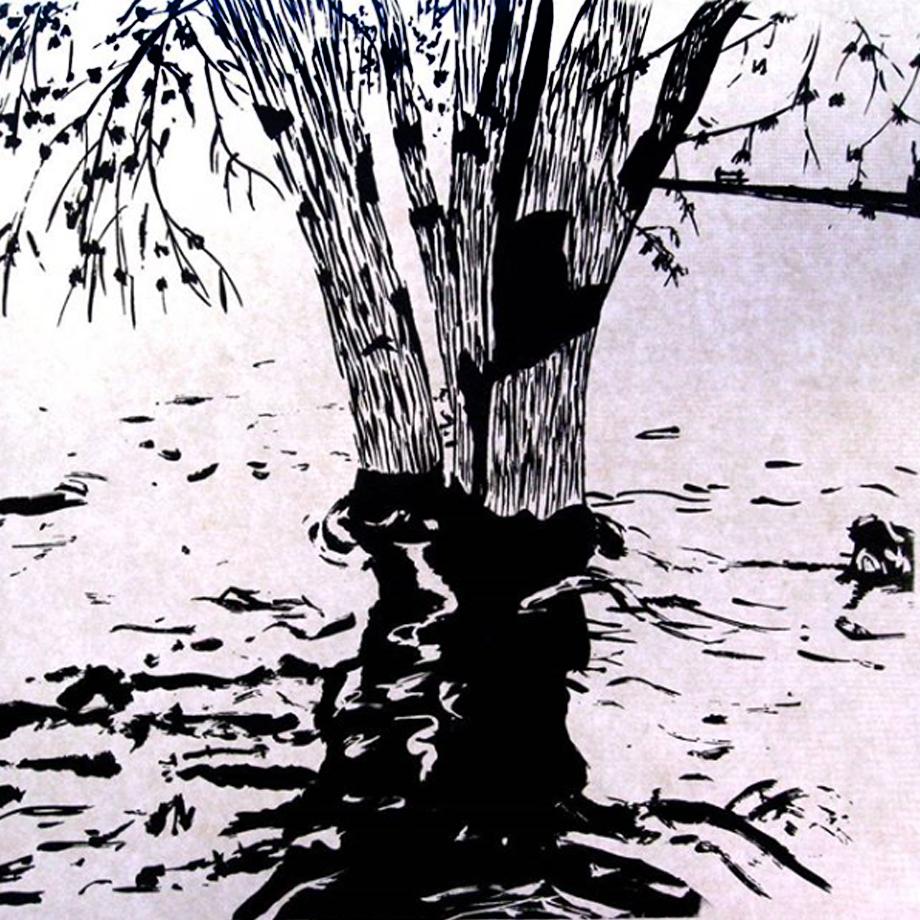 Flynn silkscreen The Flood