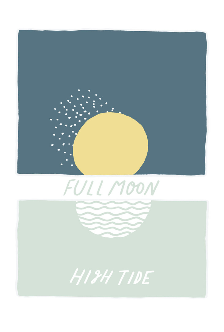Every surfer is in tune with the moon.