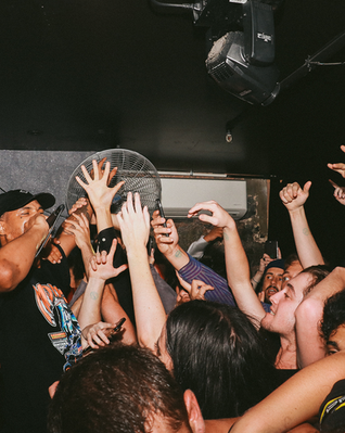 Xavier Wulf performing at Sapphire Nightclub, 1 Fort Lane, Auckland CBD, 1010