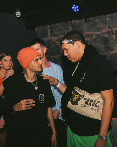 Wifisfuneral in a VIP booth at Sapphire Nightclub, 1 Fort Lane, Auckland CBD, 1010