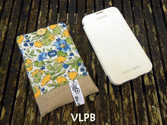 Etui smartphone lin liberty P&H jaune