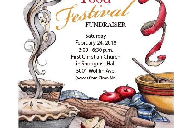 February Food Festival Fundraiser