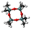 180px-Octamethylcyclotetrasiloxane-3D-ba