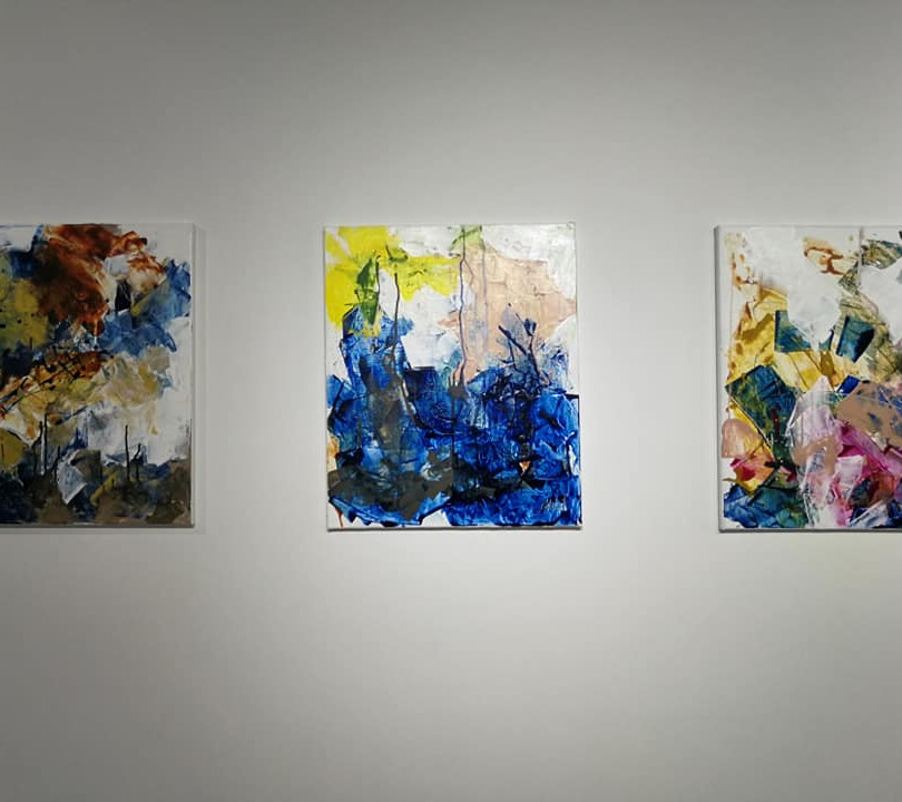 ArtExhibition - Disturbance and Tranquility -