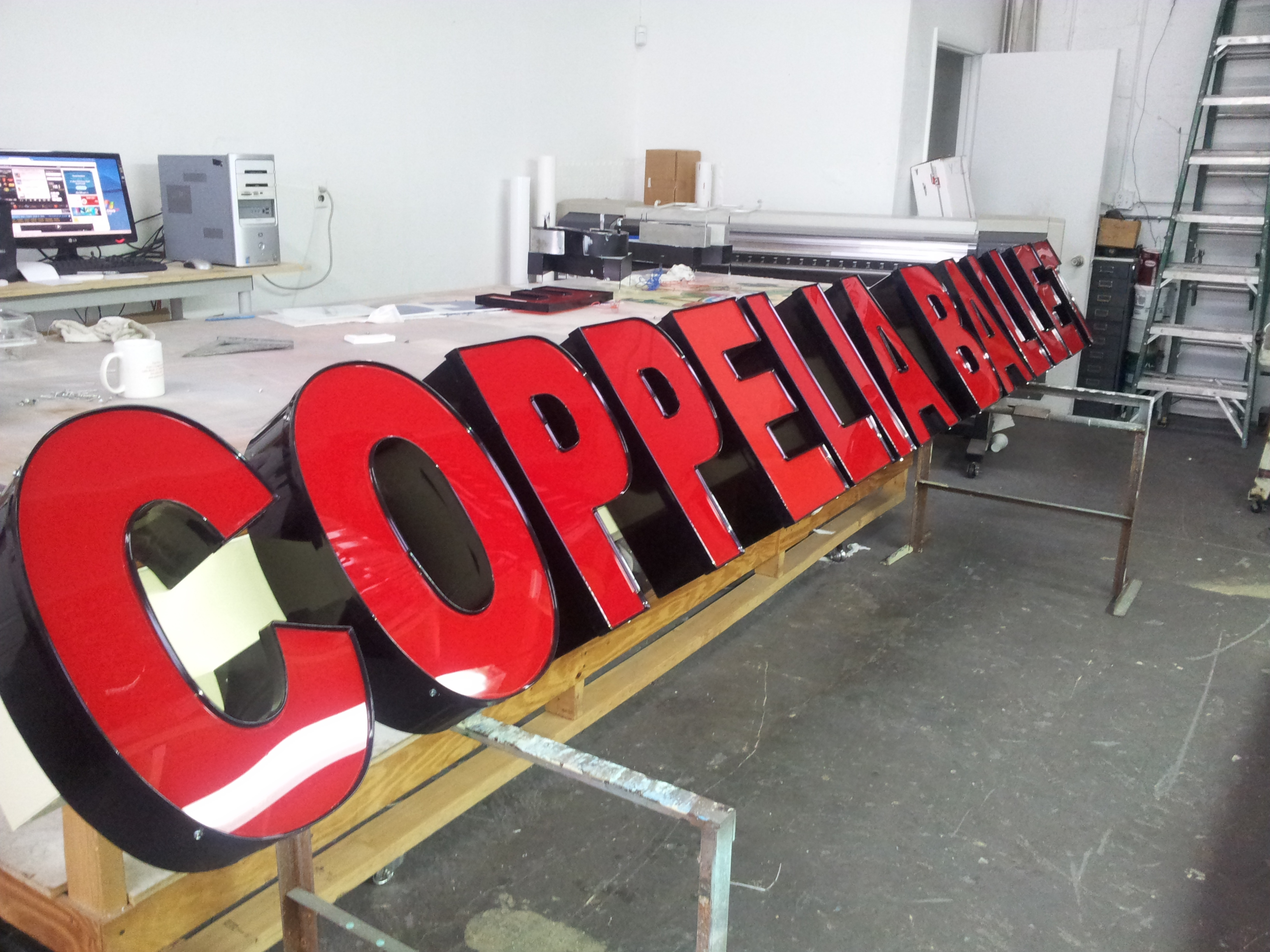 coppelia ballet sign.JPG