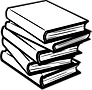 Books - Lineart - No Shading-274110.png