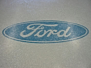 Epoxy Flake System at Ford Dealership.jp