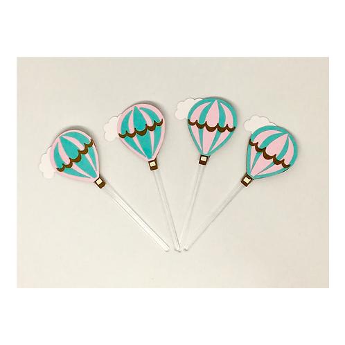 Kit 20 Toppers p docinhos Balões!