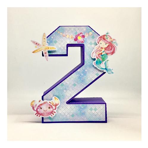 Número 3d Sereia!