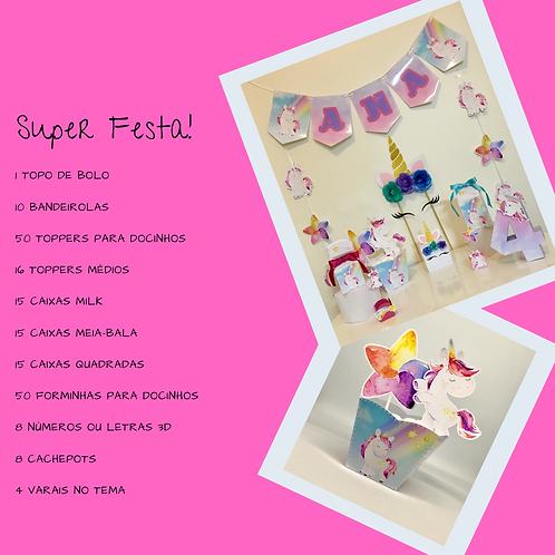 Kit Super Festa Unicórnio!