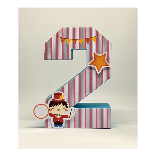 Número 3d Circo!