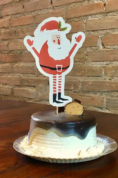 Topo de Bolo Papai Noel!