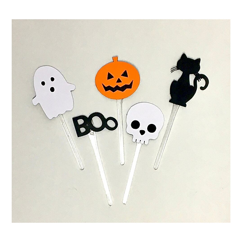 Kit 20 Toppers p docinhos Halloween!