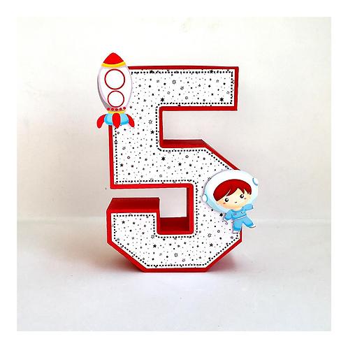 Número 3D Espaço!