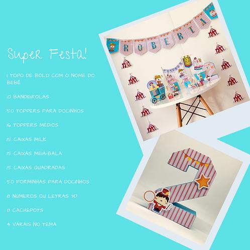 Kit Super Festa Circo!