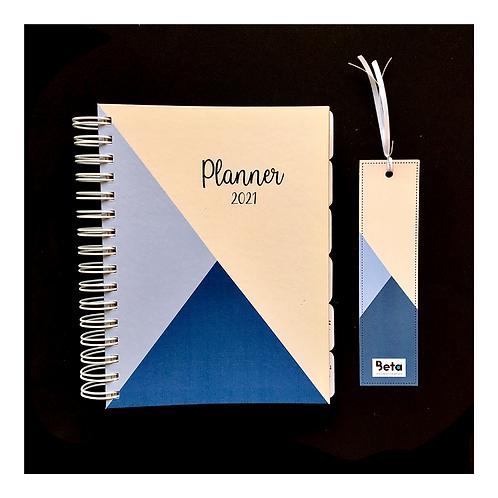 Planner 2021 azul