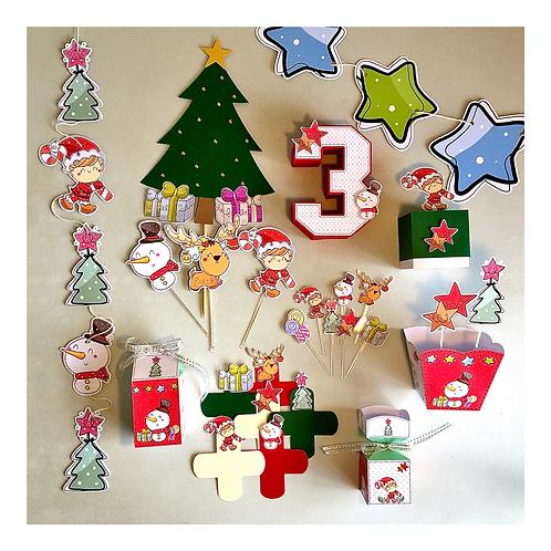 Kit Festa Bacana Natal!