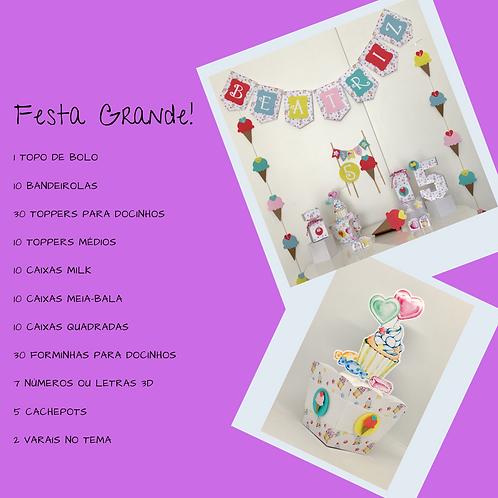 Kit Festa Grande Linha Doces!