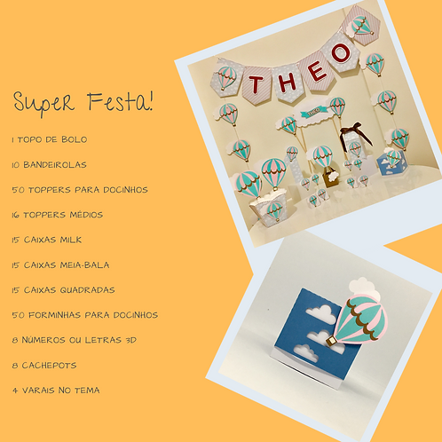 Kit Super Festa Balões!