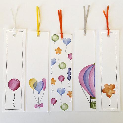 Kit Marcadores de livros Balões!