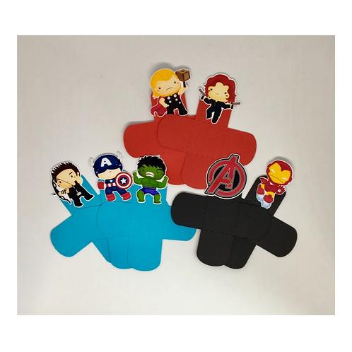 Forminhas para docinhos Super Heróis Baby !