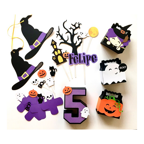 Kit Só um Bolinho Halloween