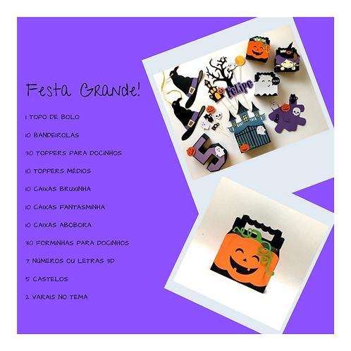 Kit Festa Grande Halloween!