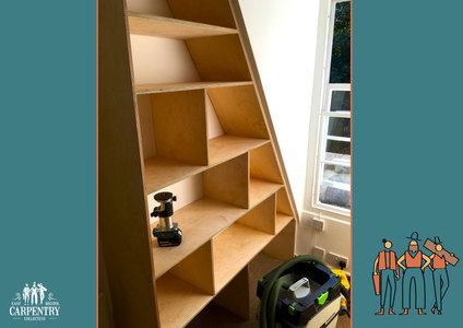 Birch Face Ply Shelving