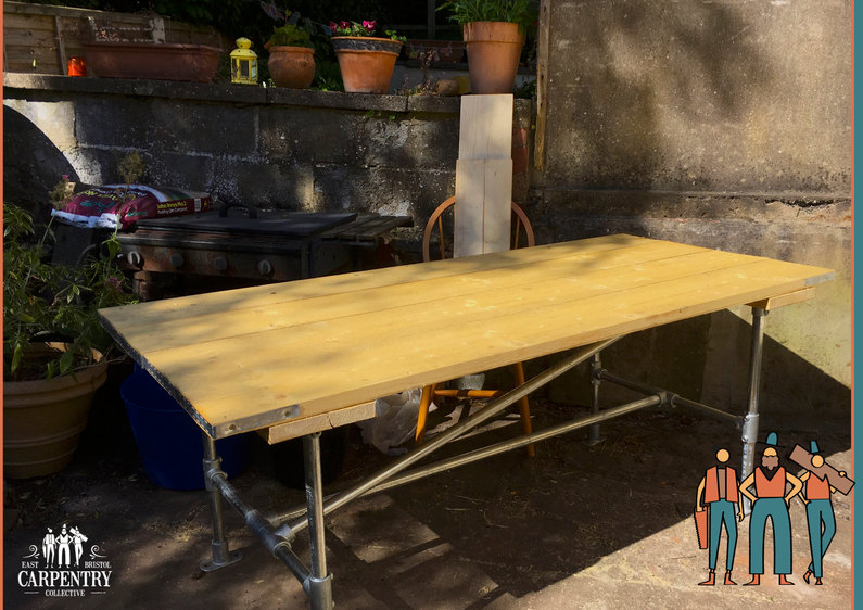 Outdoor Key-clamp Table