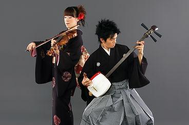 三味線 バイオリン