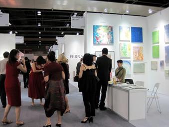 原神一の原画がシンガポールのアートフェア参加しました。
