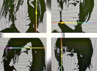 GLAYのオリジナル版画をネオシルクで制作。