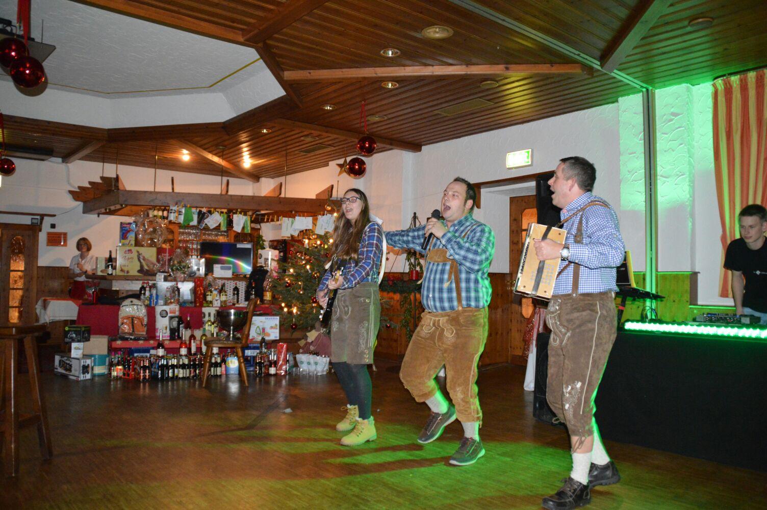 Weihnachtsfeier 2016 - Dorfrocker