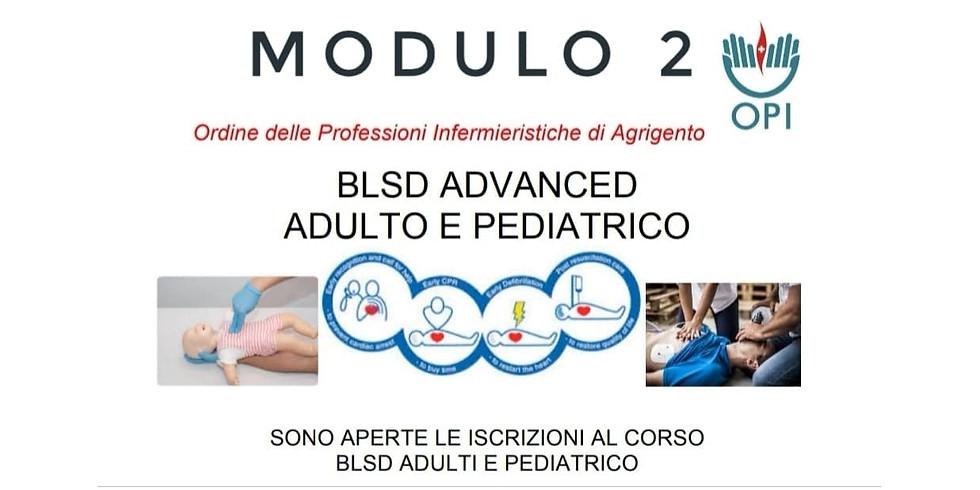 BLSD ADVANCED ADULTO E PEDIATRICO Modulo 2