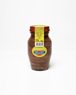 filetti di alici olio semi vasetto vetro