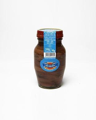 filetti di alici olio evo vasetto vetro
