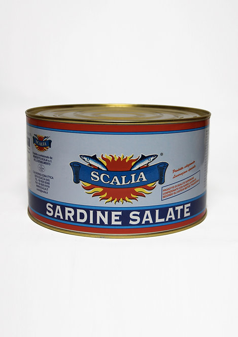 Salted sardines 5 Kg