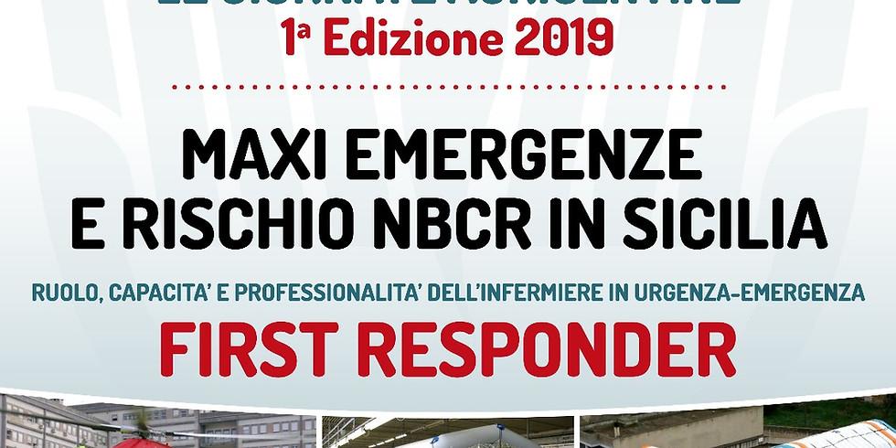 Maxi Emergenze e rischio NBCR in Sicilia