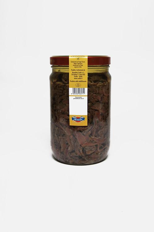 Pezzetti di acciughe 1,7 kg sott'olio