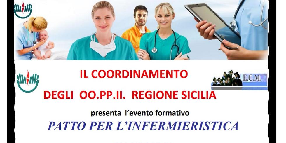 Patto per l'infermieristica in Sicilia : 9 ECM