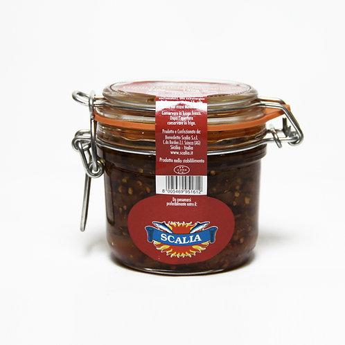 Acciughe al peperoncino 240 gr