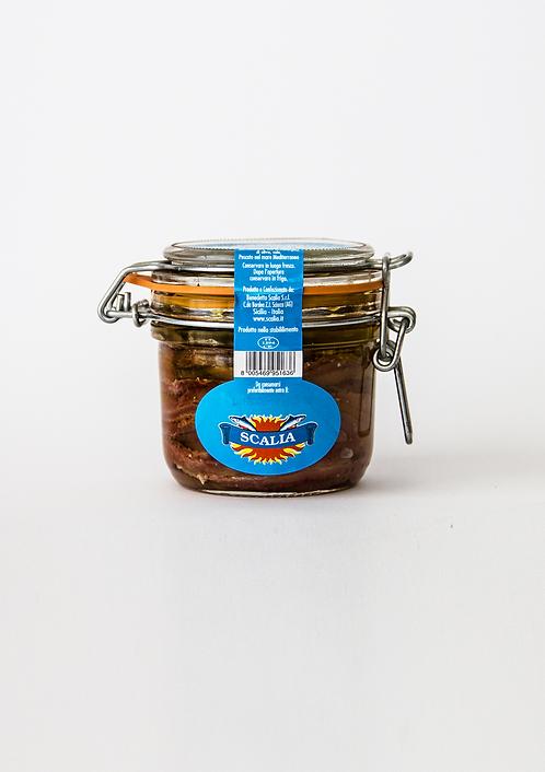 Filetti di Acciughe 240 gr Olio EVO