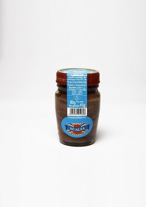 Filetti di acciughe  80 gr Olio EVO