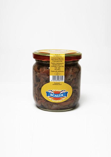 Pezzetti di acciughe 446 gr Olio di Girasole
